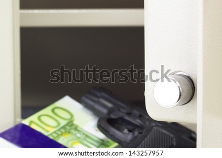 Is your locker safe from thieves? - stock photo