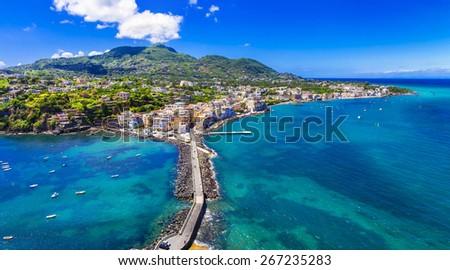 Ischia island - italian holidays - stock photo