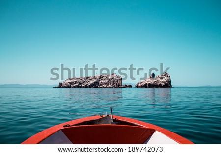 Isla del Espiritu Santo - La paz, Mexico - stock photo