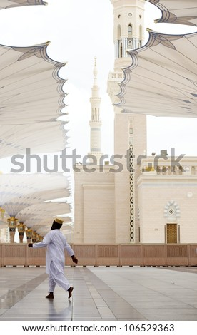 Islamic Holy Place in high resolution of 36 megapixels - stock photo
