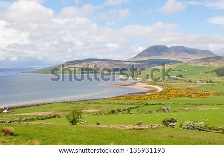 Isle of Arran Coast - stock photo