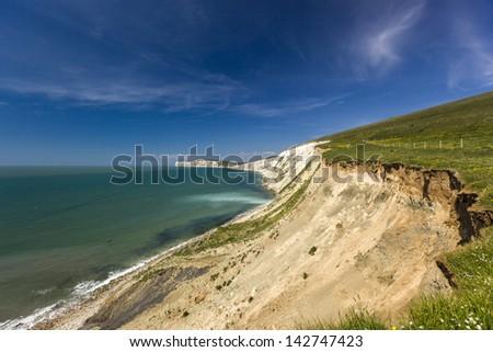 Isle of Wight - stock photo