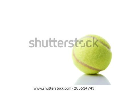 Isolate Tennis Ball - stock photo