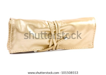 isolated bag on a white background - stock photo