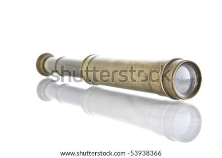 isolated binocular 2 - stock photo