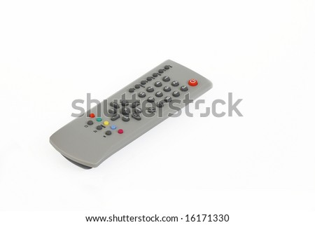 isolated controller - stock photo