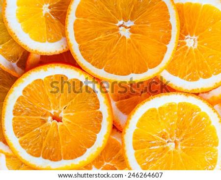 isolated fruit orange healthy citrus - stock photo