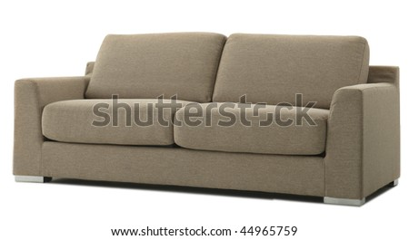 isolated furniture - stock photo