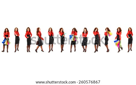 Isolated Groups Teamwork Achievement  - stock photo