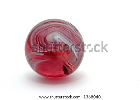Isolated Marble Macro - great detail & color - stock photo