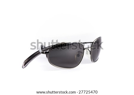 Isolated sunglasses - stock photo
