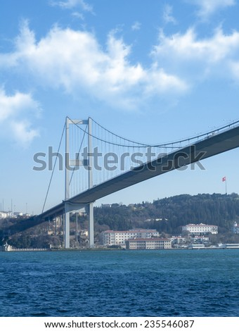 Istanbul Bosphorus, Turkey  - stock photo