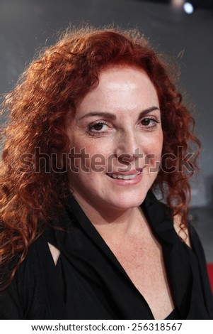 ISTANBUL, TURKEY - AUGUST 8: Famous Turkish actress, thespian and television series star Derya Alabora portrait on August 8, 2011 in Istanbul, Turkey. - stock photo