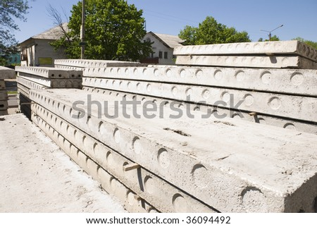 It build of modern houses - stock photo