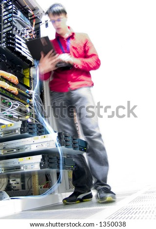 IT Engineer - stock photo