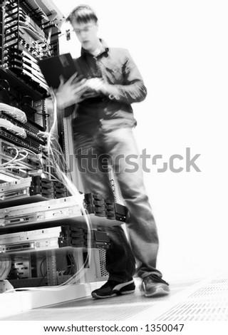 IT Engineer - stock photo