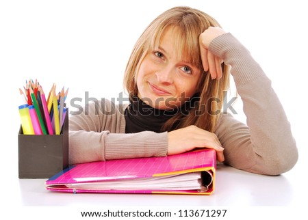 It goes back to school - 111 - stock photo