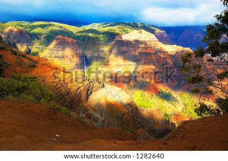 "It has the nick name ""the Grand Canyon of the Pacific"". More with keyword Series001D.