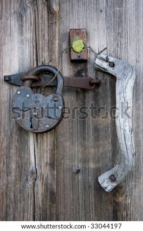 It is closed and sealed up - stock photo