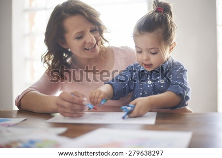It'll be picture for grandma - stock photo