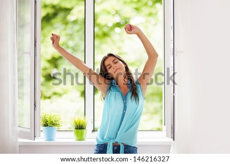 It's a beautiful, new day - stock photo