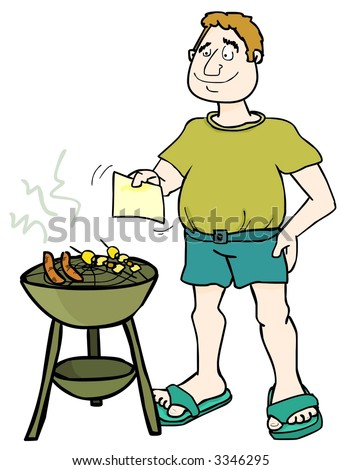 It's BBQ time! - stock photo
