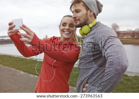 It's motivation for others to see what we train  - stock photo