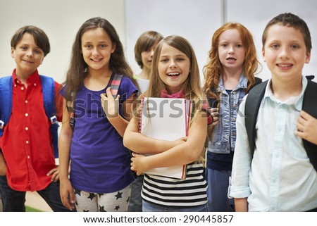 It's time to start a new school year  - stock photo