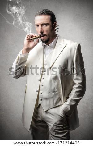 Italian Boss - stock photo