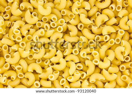 Italian pasta close up. Food background texture. - stock photo
