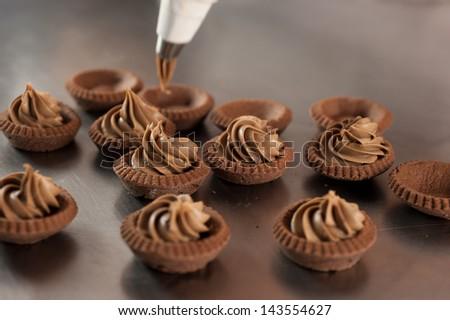 Italian pastries - stock photo