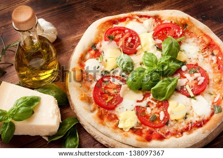 Italian Pizza - stock photo