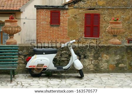 Italian style - stock photo