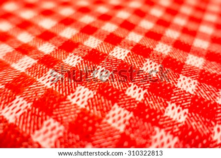 Italian tablecloth - stock photo