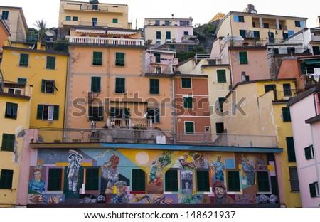 Italian town  - stock photo