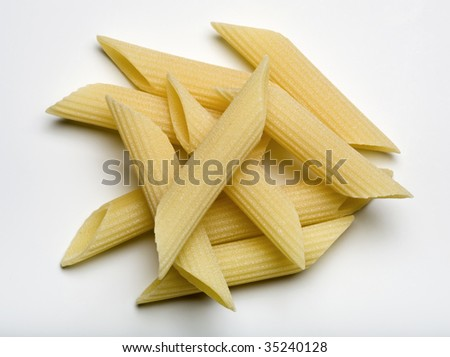 ITALY, italian pasta, penne - stock photo