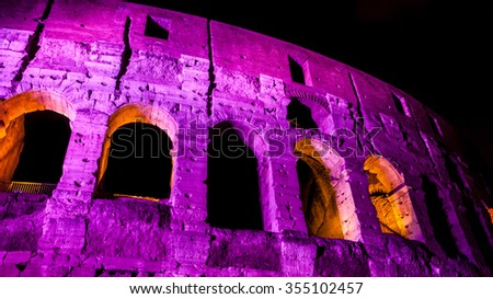 Italy. Rome. Colosseum - stock photo