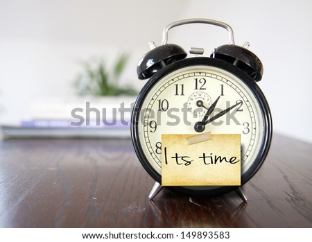 its time - stock photo