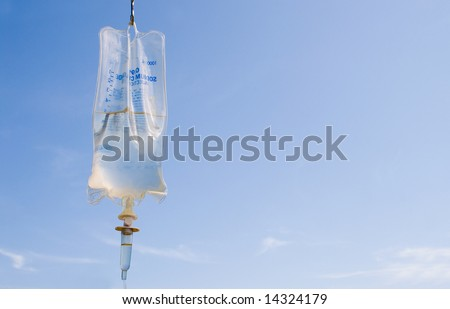IV Bag - stock photo