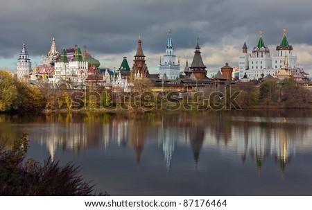 Izmailovo Kremlin,  Moscow - stock photo