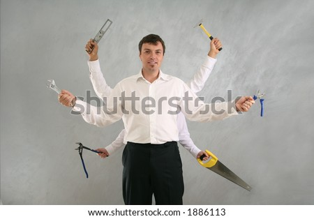 jack of all trades - stock photo