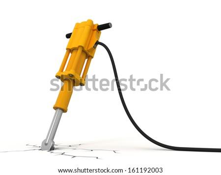 Jackhammer - stock photo