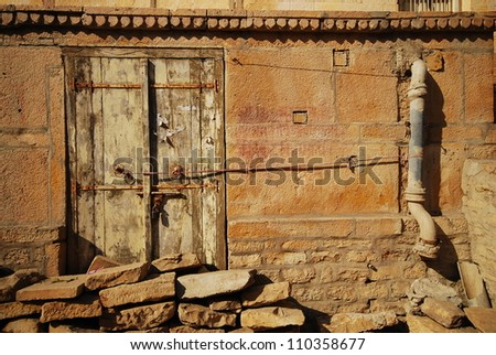 Jaisalmer Fort, Rajasthan - stock photo