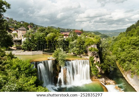 Jajce, Bosnia Herzegovina - stock photo