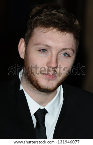 James Arthur arriving for the Prince's Trust Comedy Gala at the Royal Albert Hall, London. 28/11/2012 Picture by: Steve Vas - stock photo