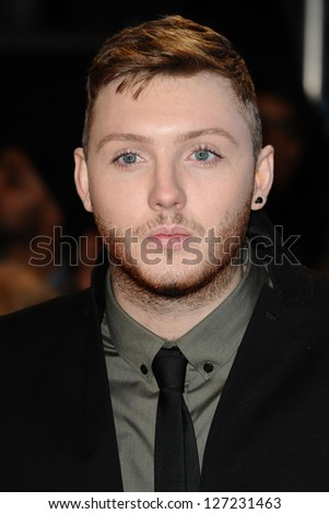 "James Arthur arriving for the ""The Twilight Saga: Breaking Dawn Part 2"" premiere at the Odeon Leicester Square, London. 14/11/2012 Picture by: Steve Vas - stock photo"