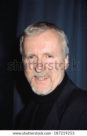 James Cameron at the premiere of GHOSTS OF THE ABYSS, NYC, 4/9/2003 - stock photo