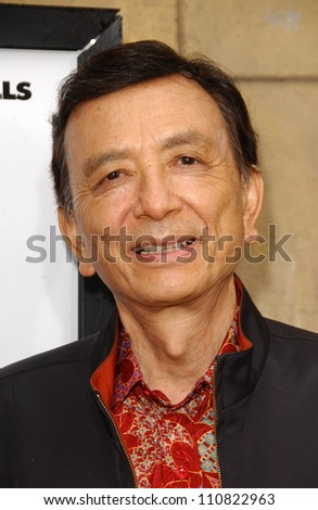 """James Hong at the Los Angeles premiere """"Balls Of Fury"""". The Egyptian Theatre, Hollywood, CA. 08-25-07 - stock photo"""