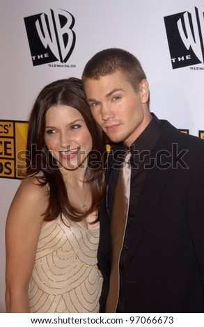 Jan 10, 2005; Los Angeles, CA:  Actor CHAD MICHAEL MURRAY & wife actress SOPHIA BUSH at the 10th Annual Critcs' Choice Awards at the Wiltern Theatre, Los Angeles. - stock photo