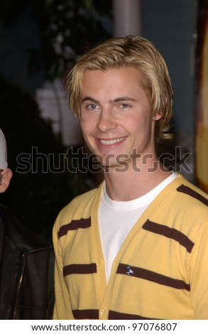 Jan 23, 2005; Los Angeles, CA: Actor ERIK VON DETTEN at ABC TV's All Star Party on the Desperate Housewive lot at Universal Studios, Hollywood. - stock photo